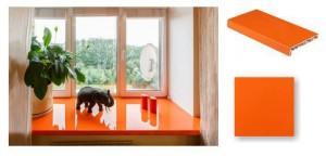 Подоконники Скайпласт Окна Остекление балконов, лоджий, веранд, домов, коттеджей