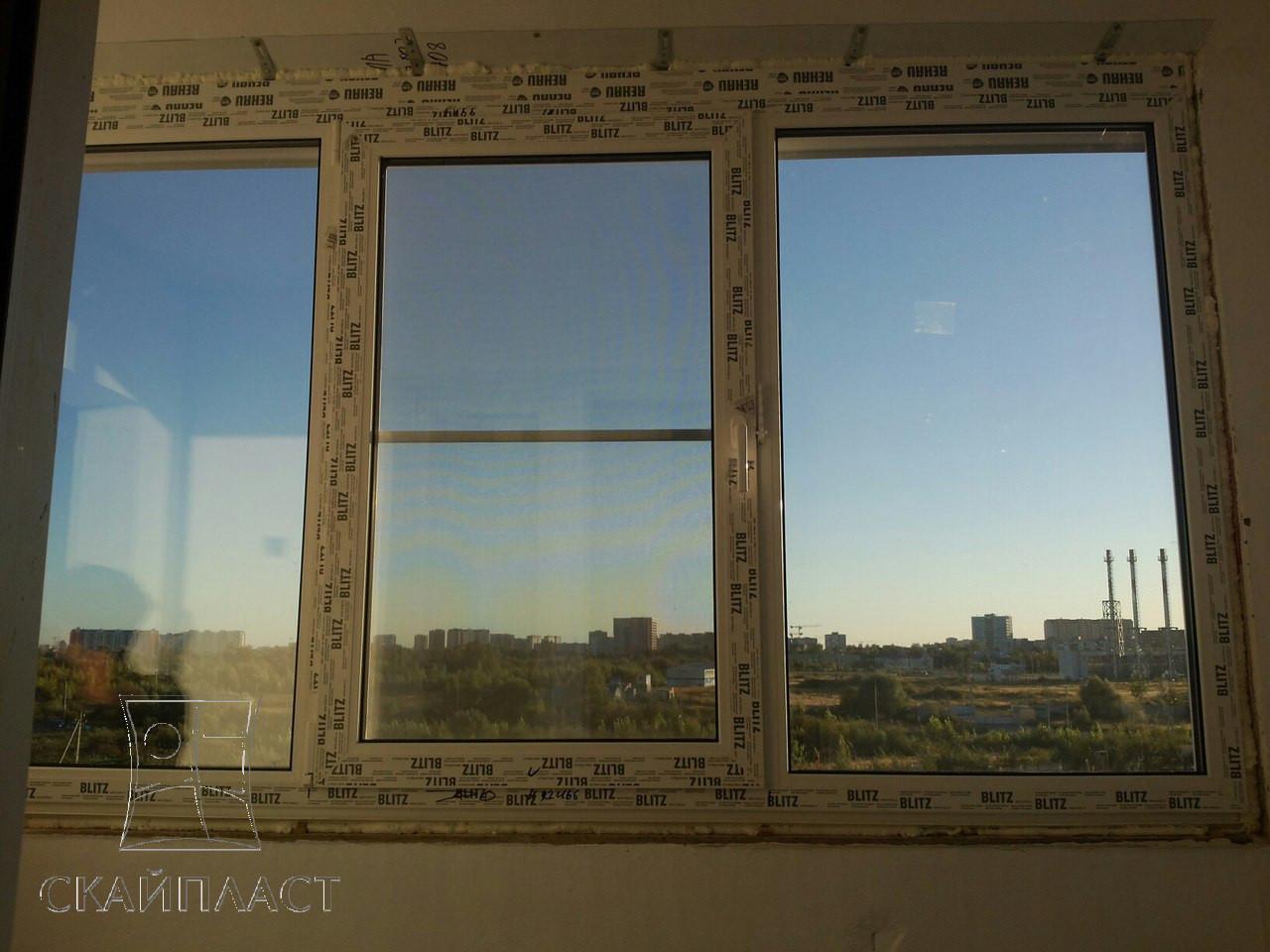 Пластиковые окна в бутово остекление балконов.