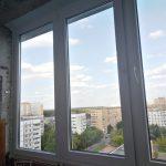 Остекление балкона в Железнодорожном