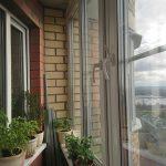 Остекление балкона в Островцах