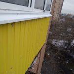 Остекление балкона на Бульваре Маршала Рокоссовского