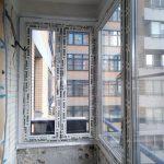 Остекление лоджии в Москве на Ленинском