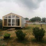 Остекление дома в Озёрском районе